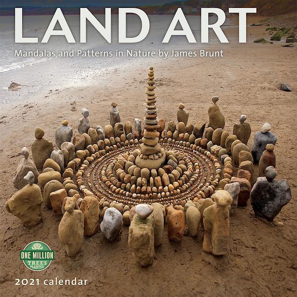 Land Art calendar cover